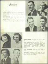 1954 Spearfish High School Yearbook Page 16 & 17