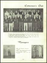 1954 Spearfish High School Yearbook Page 28 & 29