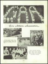 1954 Spearfish High School Yearbook Page 34 & 35