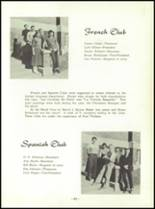 1954 Spearfish High School Yearbook Page 46 & 47
