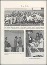 1973 Clyde High School Yearbook Page 56 & 57