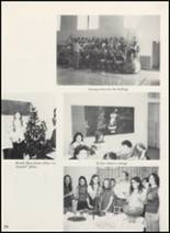 1973 Clyde High School Yearbook Page 108 & 109