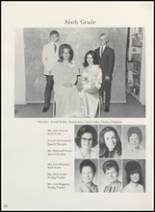 1973 Clyde High School Yearbook Page 134 & 135