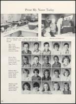1973 Clyde High School Yearbook Page 156 & 157
