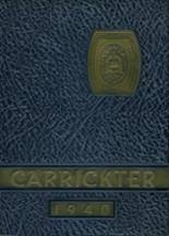 1940 Yearbook Carrick High School