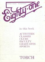 1981 Yearbook Notre Dame High School