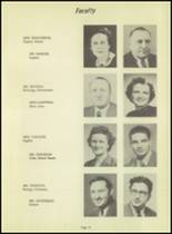 1953 Kingsford High School Yearbook Page 28 & 29