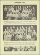 1953 Kingsford High School Yearbook Page 36 & 37