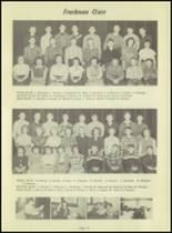 1953 Kingsford High School Yearbook Page 38 & 39