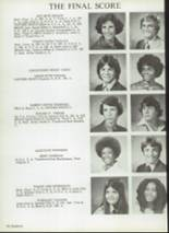 1978 Brookhaven High School Yearbook Page 100 & 101