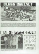1982 Valley High School Yearbook Page 56 & 57
