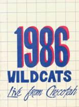 1986 Yearbook Checotah High School