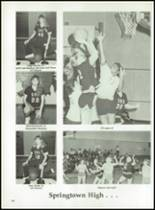 1987 Springtown High School Yearbook Page 106 & 107