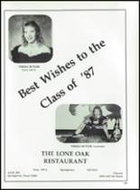 1987 Springtown High School Yearbook Page 302 & 303