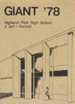1978 Yearbook Highland Park High School
