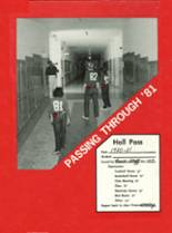 1981 Yearbook Northside High School