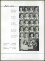 1942 Immaculata High School Yearbook Page 44 & 45