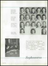 1942 Immaculata High School Yearbook Page 54 & 55