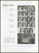 1942 Immaculata High School Yearbook Page 58 & 59