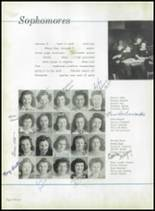 1942 Immaculata High School Yearbook Page 60 & 61