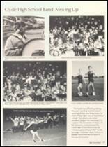 1981 Clyde High School Yearbook Page 20 & 21