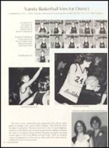 1981 Clyde High School Yearbook Page 54 & 55