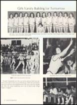 1981 Clyde High School Yearbook Page 56 & 57