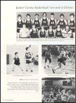 1981 Clyde High School Yearbook Page 58 & 59