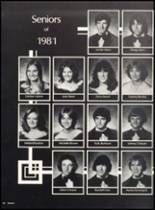 1981 Clyde High School Yearbook Page 70 & 71