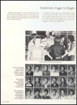1981 Clyde High School Yearbook Page 92 & 93