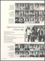 1981 Clyde High School Yearbook Page 118 & 119