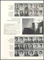 1981 Clyde High School Yearbook Page 122 & 123
