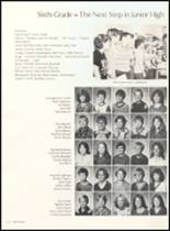 1981 Clyde High School Yearbook Page 126 & 127