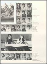 1981 Clyde High School Yearbook Page 128 & 129