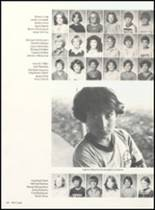 1981 Clyde High School Yearbook Page 132 & 133