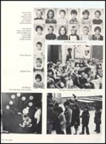1981 Clyde High School Yearbook Page 154 & 155