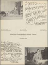 1954 Lampasas High School Yearbook Page 10 & 11