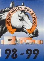 1999 Yearbook Hidden Valley High School