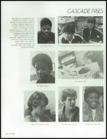1985 Ingraham High School Yearbook Page 130 & 131