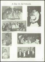 1990 Jal High School Yearbook Page 34 & 35
