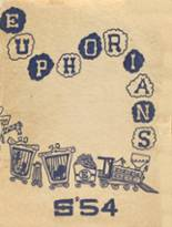 1954 Yearbook Alexander Hamilton High School
