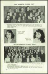 1945 Northeast High School Yearbook Page 24 & 25