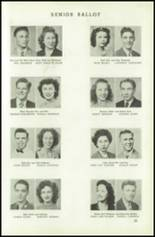 1945 Northeast High School Yearbook Page 32 & 33