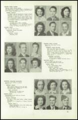 1945 Northeast High School Yearbook Page 34 & 35