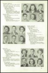 1945 Northeast High School Yearbook Page 36 & 37
