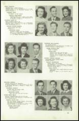 1945 Northeast High School Yearbook Page 38 & 39