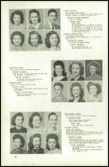 1945 Northeast High School Yearbook Page 40 & 41