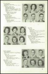 1945 Northeast High School Yearbook Page 42 & 43