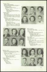 1945 Northeast High School Yearbook Page 46 & 47