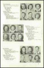 1945 Northeast High School Yearbook Page 48 & 49
